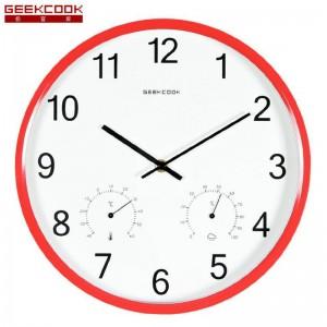 """Sieninis laikrodis """"Tobulumas 12"""" (su temperatūros matavimu, tylus)"""