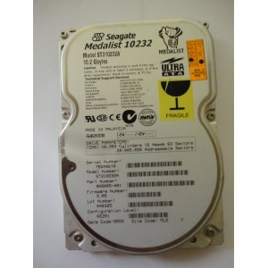 Kietasis diskas - Seagate Medalist - 10.2 GB - ST310232A