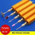 """Elektroninė drėlė - graviravimo įrankis """"Auksinis"""" (su baterijomis)"""