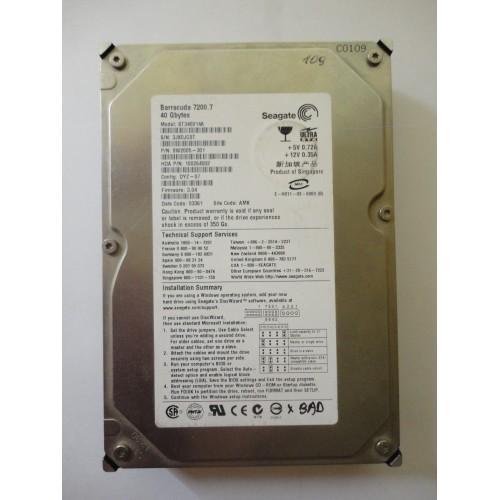 Kietasis diskas - Seagate Baracuda - 40 GB - ST340014A