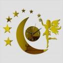 """Sieninis laikrodis """"Nakties fėja 4"""" (45 x 45 cm)"""