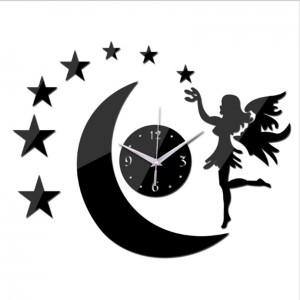 """Sieninis laikrodis """"Nakties fėja 6"""" (45 x 45 cm)"""