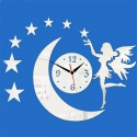 """Sieninis laikrodis """"Nakties fėja 11"""" (45 x 25 cm)"""