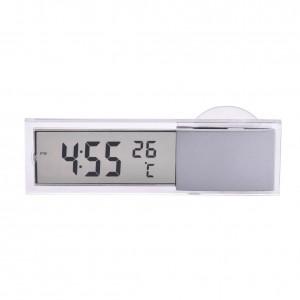 """Stilingas automobilio laikrodis ir termometras """"Modernumas"""""""