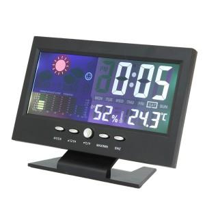 """Automobilio LCD laikrodis - termometras """"Profesionalas"""""""