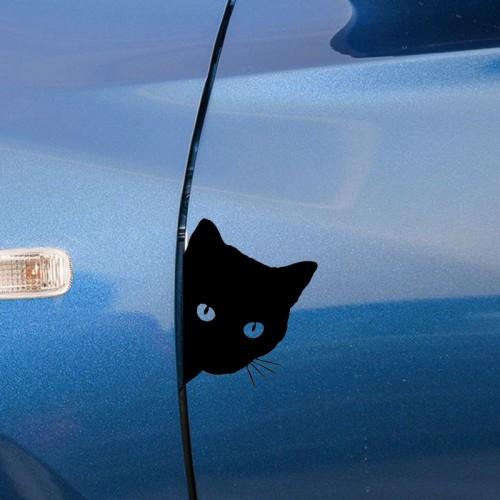 """Lipdukas automobiliui """"Katinas"""" (15 cm)"""