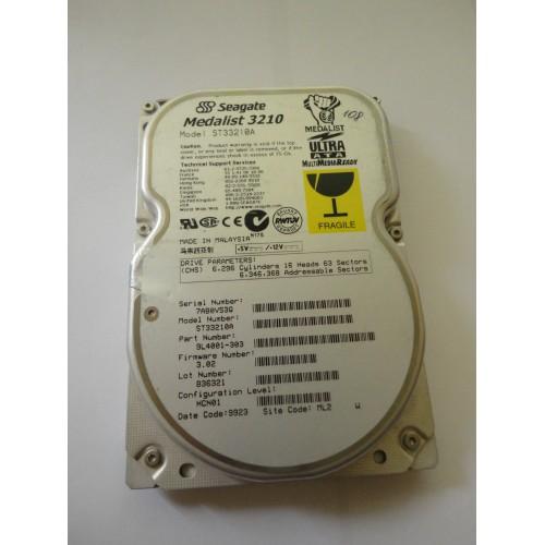 Kietasis diskas - Seagate Medalist -  3.25 GB - ST33210A