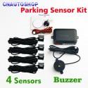 "Automobilinė parkavimo sistema ""Super tikslumas"" (4 sensoriai 22 mm 12 V)"
