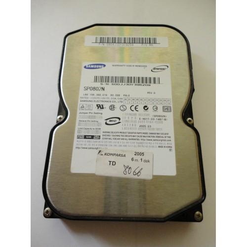 Kietasis diskas - Samsung - 80 GB - SP0802N