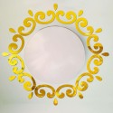 """Veidrodiniai lipdukai """"Auksinis ratas"""" (49 x 30 cm)"""