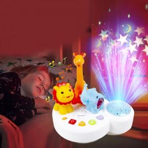 """Muzikinis ramaus miego žaislas """"Muzikiniai žvėreliai"""""""