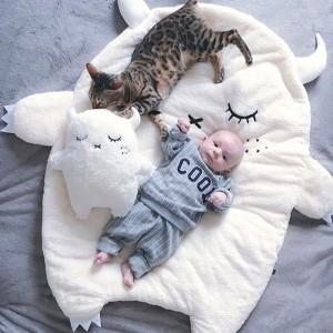 """Kilimėlis mažyliui """"Mieganti pelėda"""""""