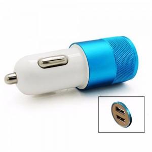 """USB įkroviklis automobiliui """"Greitai pakrausiu 5"""" (5V 2.1A, 1A)"""