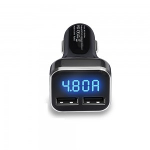 "USB įkroviklis automobiliui ""Profesionalas 11"" (5V  2.4A x 2)"