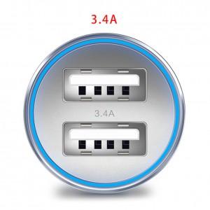 """USB įkroviklis automobiliui """"Profesionalas 13"""" (5V  3.4A)"""