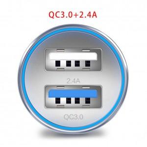 """USB įkroviklis automobiliui """"Profesionalas 14"""" (3.0 + 3.4A)"""