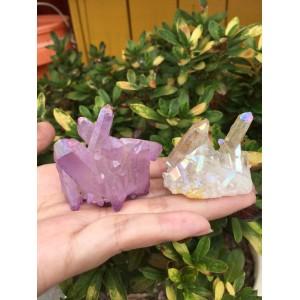 """Natūralus mineralas """"Vaivorykštinė banga"""" (61 g, 2 vnt)"""