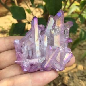 """Natūralus mineralas """"Violetinė magija"""" (43 g)"""