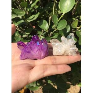 "Natūralus mineralas ""Violetinis ir baltas"" (58 g)"