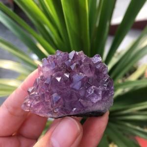"Natūralus mineralas ""Svajonė 4"" (ametisto kristalas, 42"