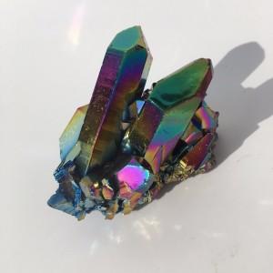 """Natūralus mineralas """"Vaivorykštinė liepsna 2"""" (83 g)"""