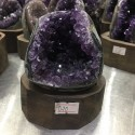 """Natūralus mineralas """"Nuostabioji svajonė 17"""" (ametisto kristalas, 700 g)"""
