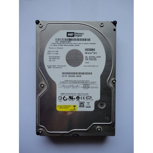 Kietasis diskas - Western Digital - 250 GB - WD2500KS
