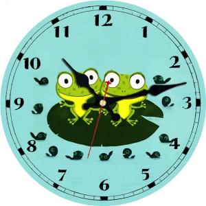 """Sieninis laikrodis """"Žaliosios varlytės"""""""