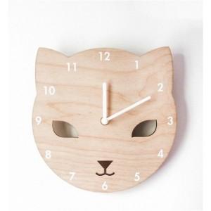 """Sieninis laikrodis """"Puikusis katinukas"""""""