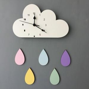 """Sieninis laikrodis """"Debesėlis ir lietus"""""""