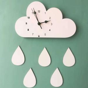 """Sieninis laikrodis """"Debesėlis ir lietus 3"""""""