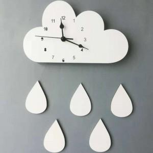 """Sieninis laikrodis """"Debesėlis ir lietus 4"""""""