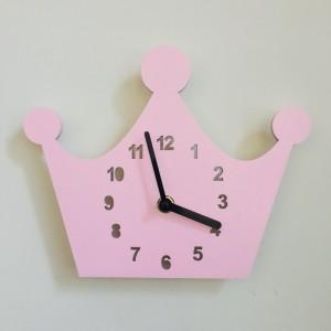 """Sieninis laikrodis """"Rožinė karūna"""" (24 cm)"""
