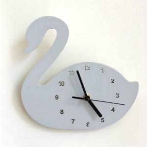 """Sieninis laikrodis """"Pilkoji gulbė"""" (24 cm)"""