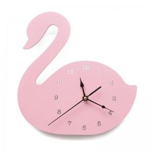 """Sieninis laikrodis """"Rožinė gulbė"""" (24 cm)"""