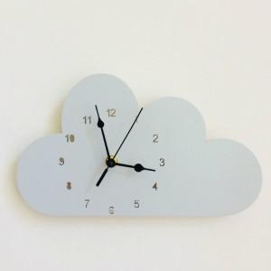 """Sieninis laikrodis """"Pilkasis debesėlis"""" (24 cm)"""