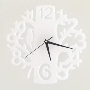 """Sieninis laikrodis """"Medis ir paukštelis 3"""" (22 cm)"""