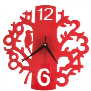 """Sieninis laikrodis """"Medis ir paukštelis 4"""" (22 cm)"""