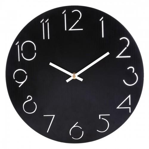 """Sieninis laikrodis """"Juodas stilius"""""""