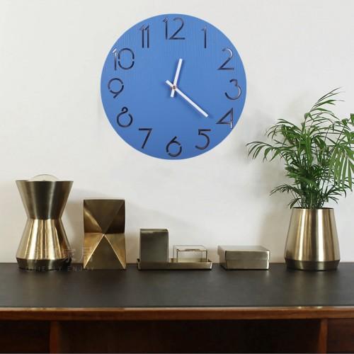 """Sieninis laikrodis """"Mėlynas stilius"""""""