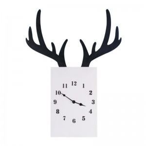 """Sieninis laikrodis """"Baltasis elnias"""" (55 x 41 cm)"""