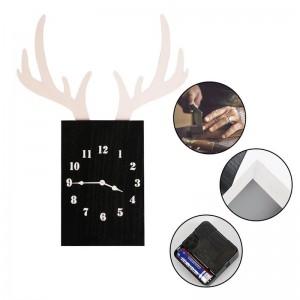 """Sieninis laikrodis """"Tamsusis elnias"""" (55 x 41 cm)"""