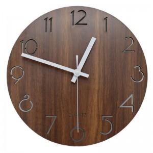 """Sieninis laikrodis """"Medinė klasika"""" (30 cm)"""