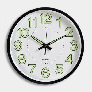 """Sieninis laikrodis """"Tebūnie šviesa"""" (30 cm)"""