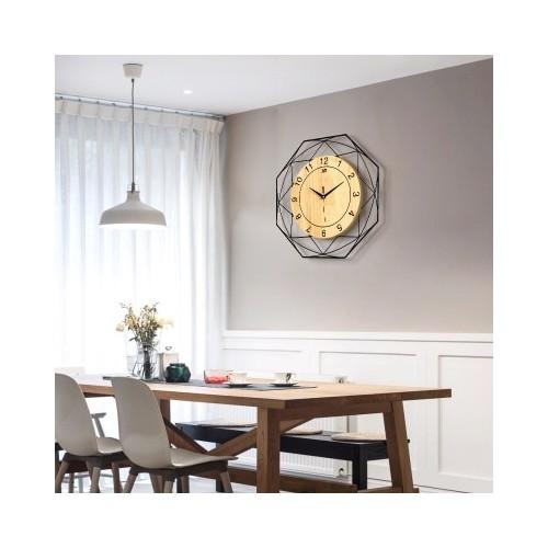"""Sieninis laikrodis """"Stiliaus progresas"""" (42 cm)"""