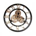 "Sieninis laikrodis ""Metalo stilius 2"" (40 cm)"