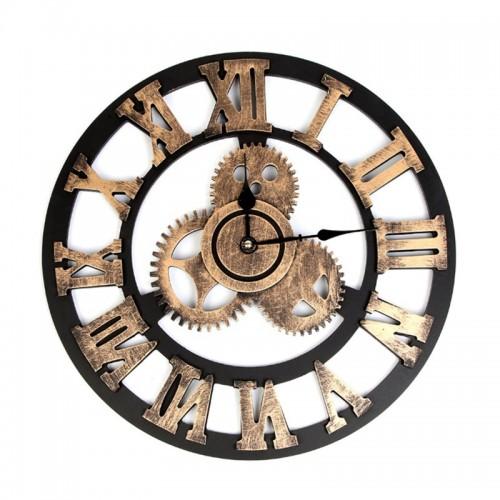 "Sieninis laikrodis ""Metalo stilius 4"" (40 cm)"