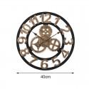 """Sieninis laikrodis """"Stiliaus progresas"""" (40 cm)"""