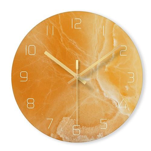 """Sieninis laikrodis """"Marmurinis stilius"""" (29 cm)"""