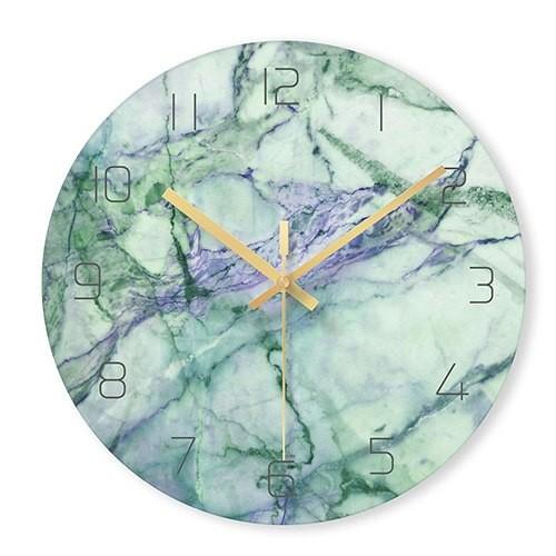 """Sieninis laikrodis """"Marmurinis stilius 2"""" (29 cm)"""